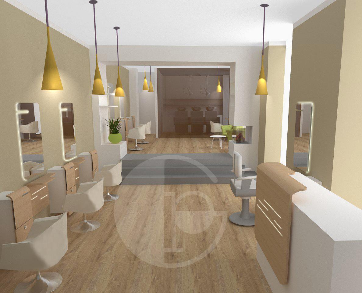 Illuminazione per negozi di parrucchieri arredamento for Prisma arredo negozi