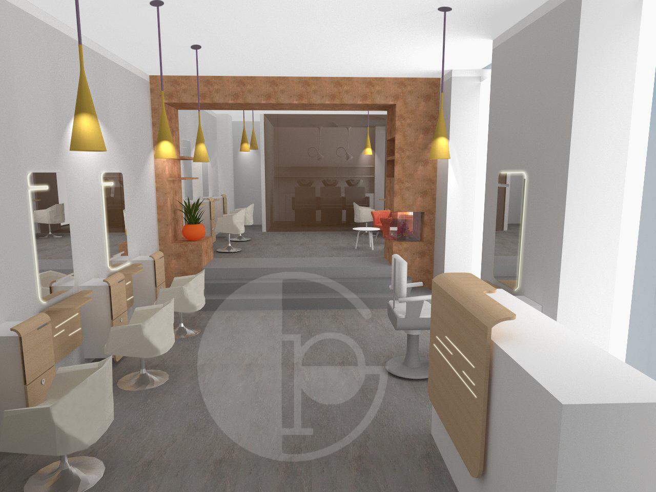 Luci per negozi di parrucchieri impianto elettrico negozio modena